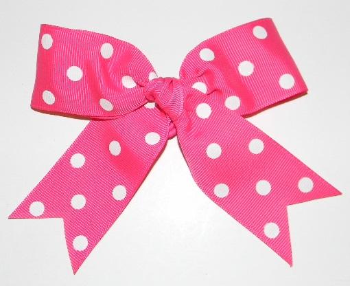 Bow-PinkDark-1-Whitedot-Bin33